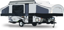 Tent Trailers - RV Type